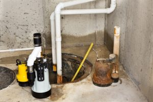 sump pump in the basement may have issues that shouldn't be overlooked